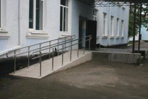 Вход во 2 учебный корпус